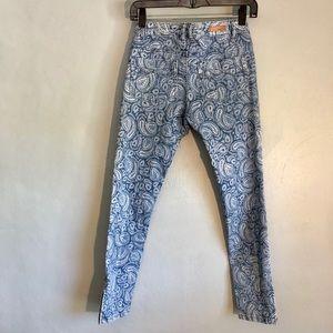 O'Neill paisley skinny jeans